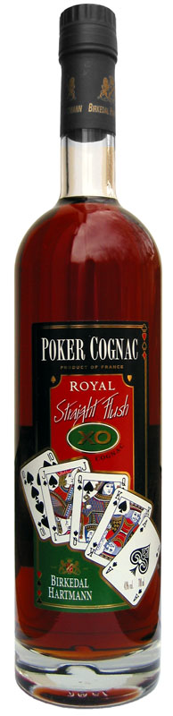 Poker Cognac XO Straight Flush