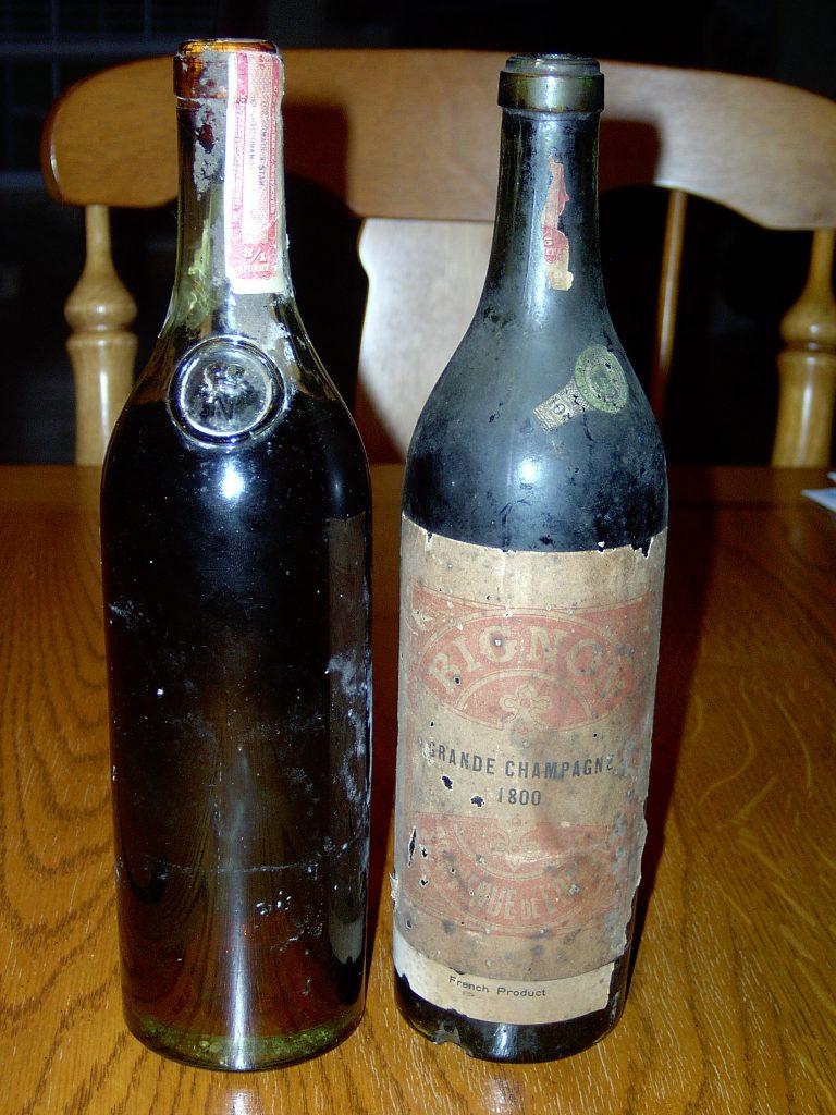 Bignon Grande Champagne 1800 through an auction