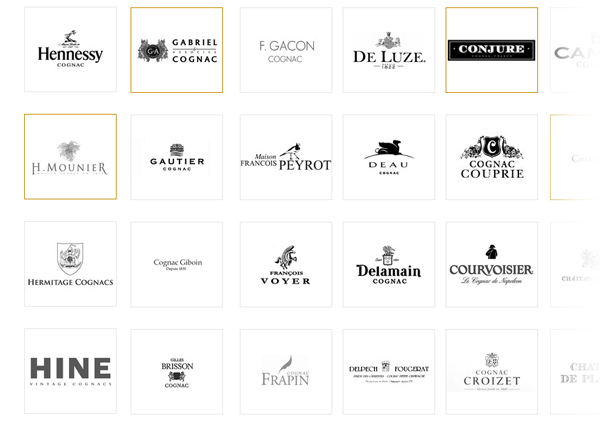 Discover all Cognac Brands