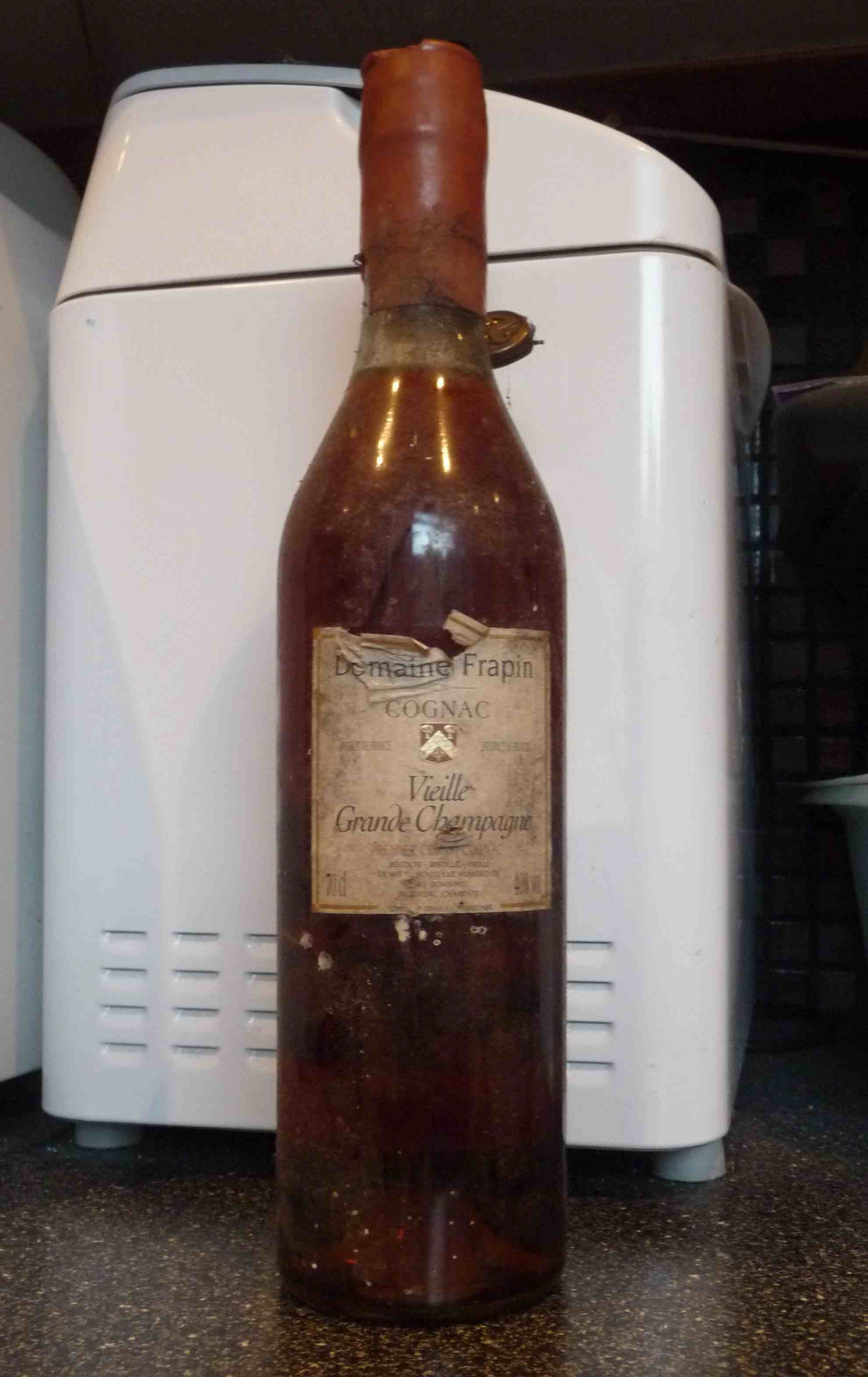 whole bottle of Cognac