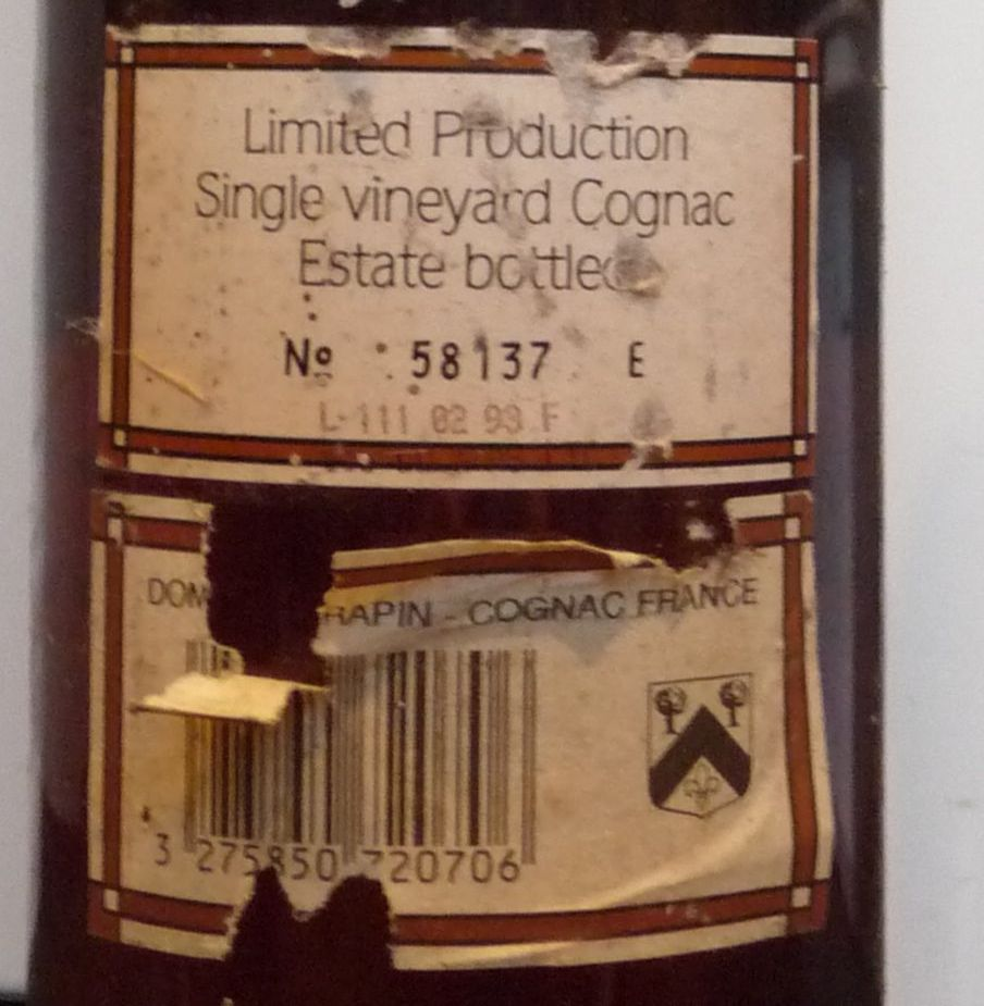 back side label