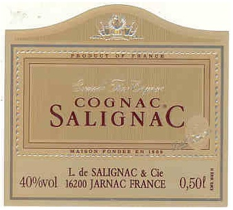 Salignac label