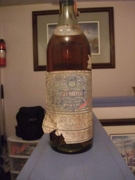 J&F Martell Cognac VS