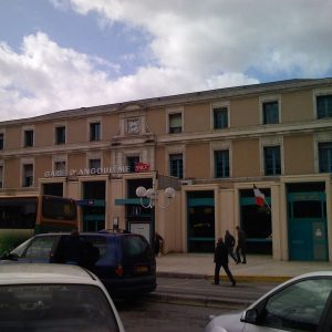 Angouleme Train station