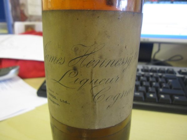 Label Cognac James Hennessy