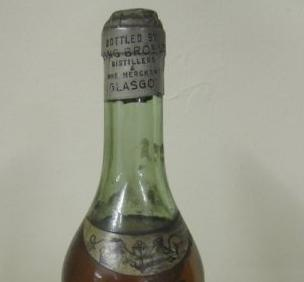 James Hennessy vintage Cognac bottle