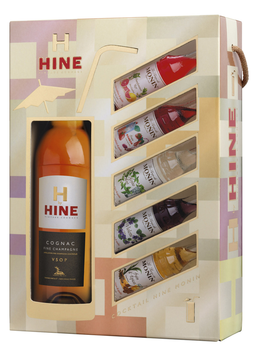 Hine cocktail case