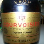 Courvoisier V.S.O.P Old Bottle label