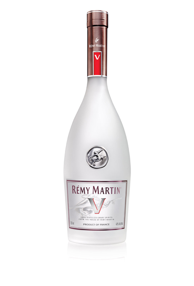 Unaged Remy Martin V clear spirit