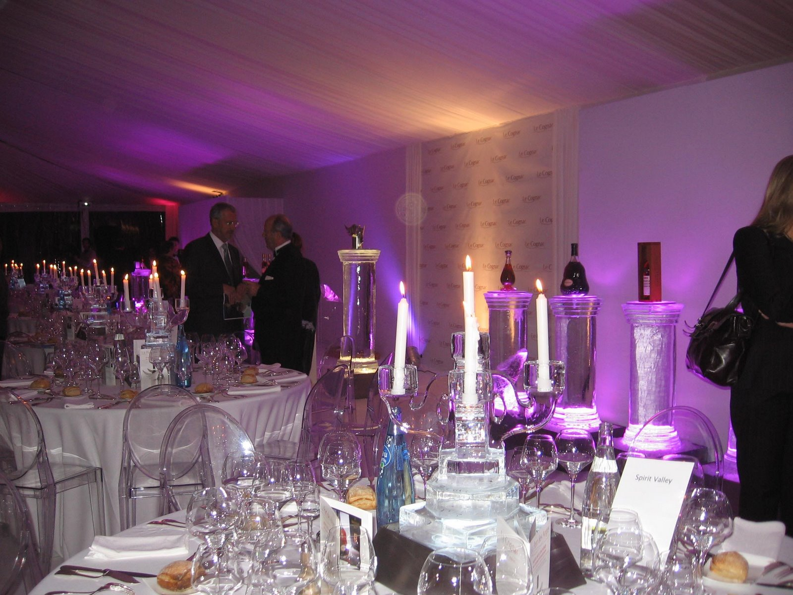 Cognac auction and dinner
