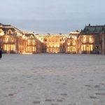 Arrival at Versailles