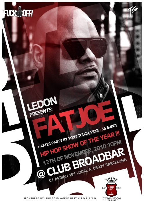 Fat Joe Barcelona Comandon