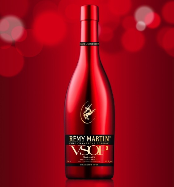 Remy Martin VSOP Red Holiday bottle