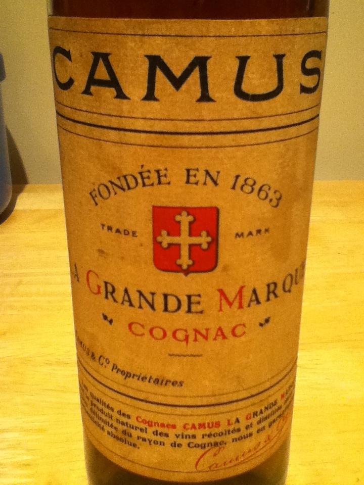 Camus La Grande Marque bottle
