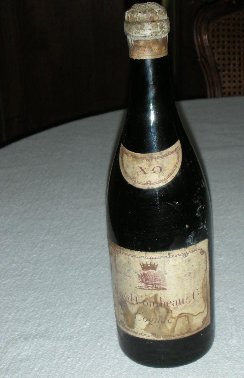 Treasure: Old Pascal Combeau Cognac hidden from Germans