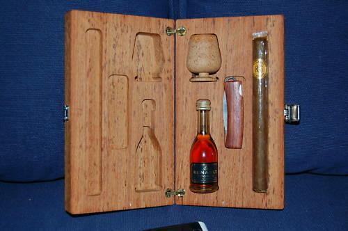 The Cognac Cigar Survival Set