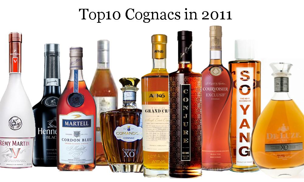 The Top 10 Cognacs 2011
