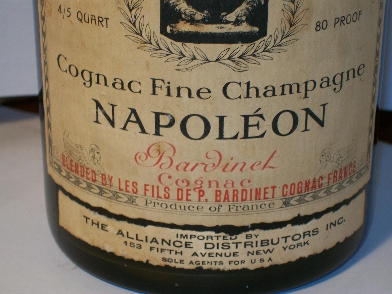 Bardinet Cognac Napoleon