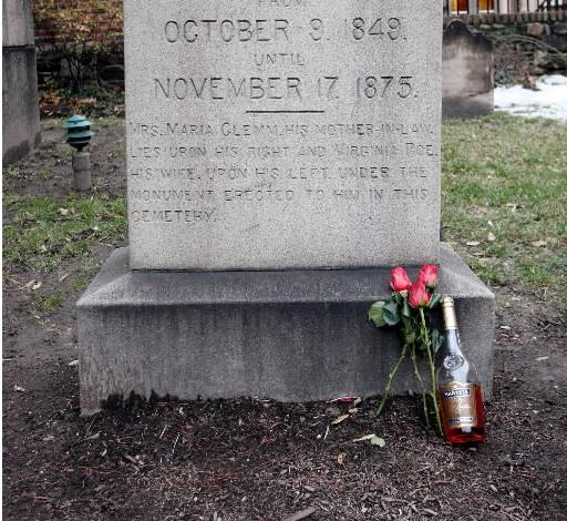 No Cognac to go from the 'Toaster of Poe'