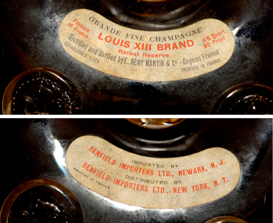 Louis XIII Labels