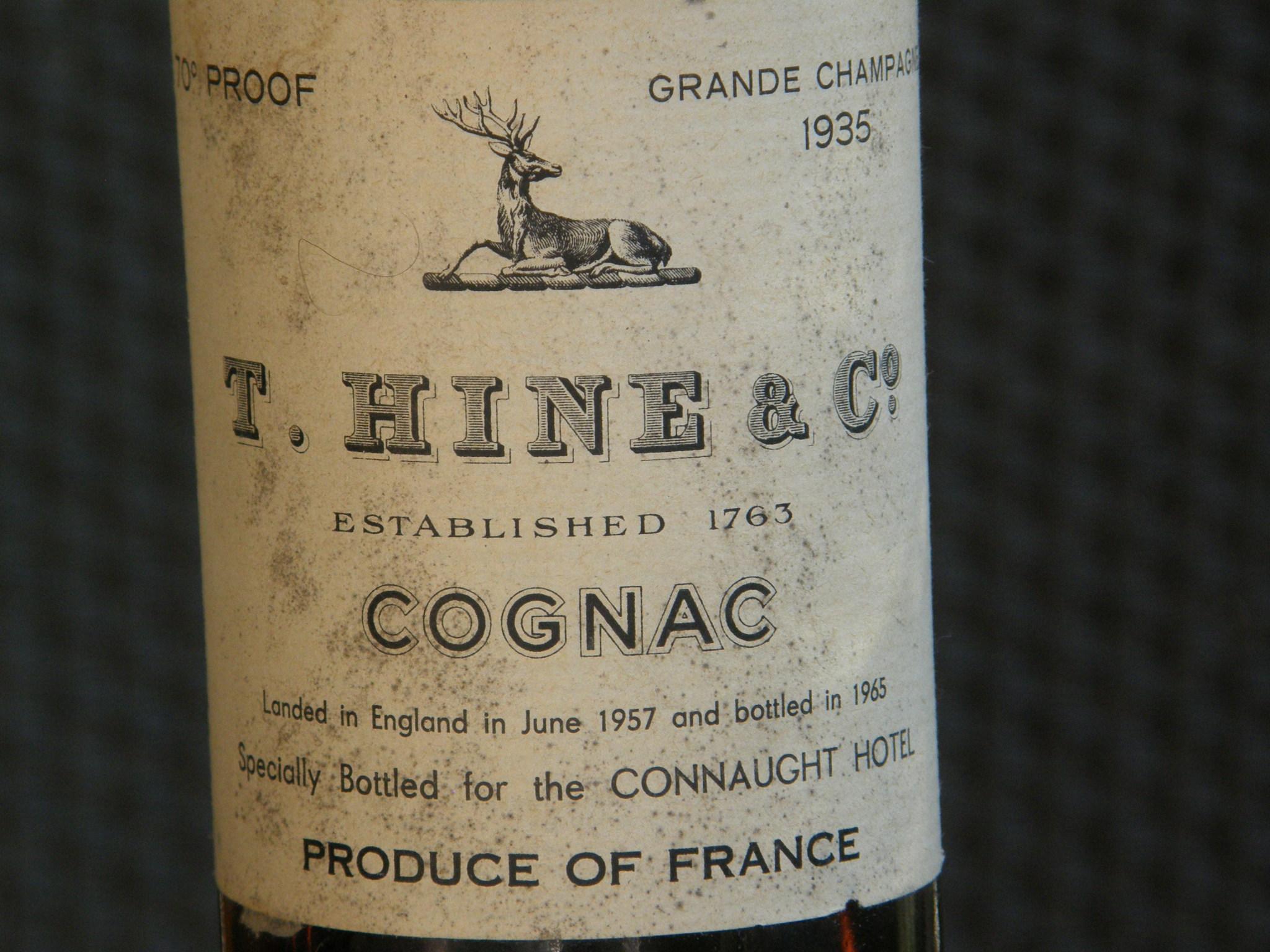 Hine Grande Champagne 1935