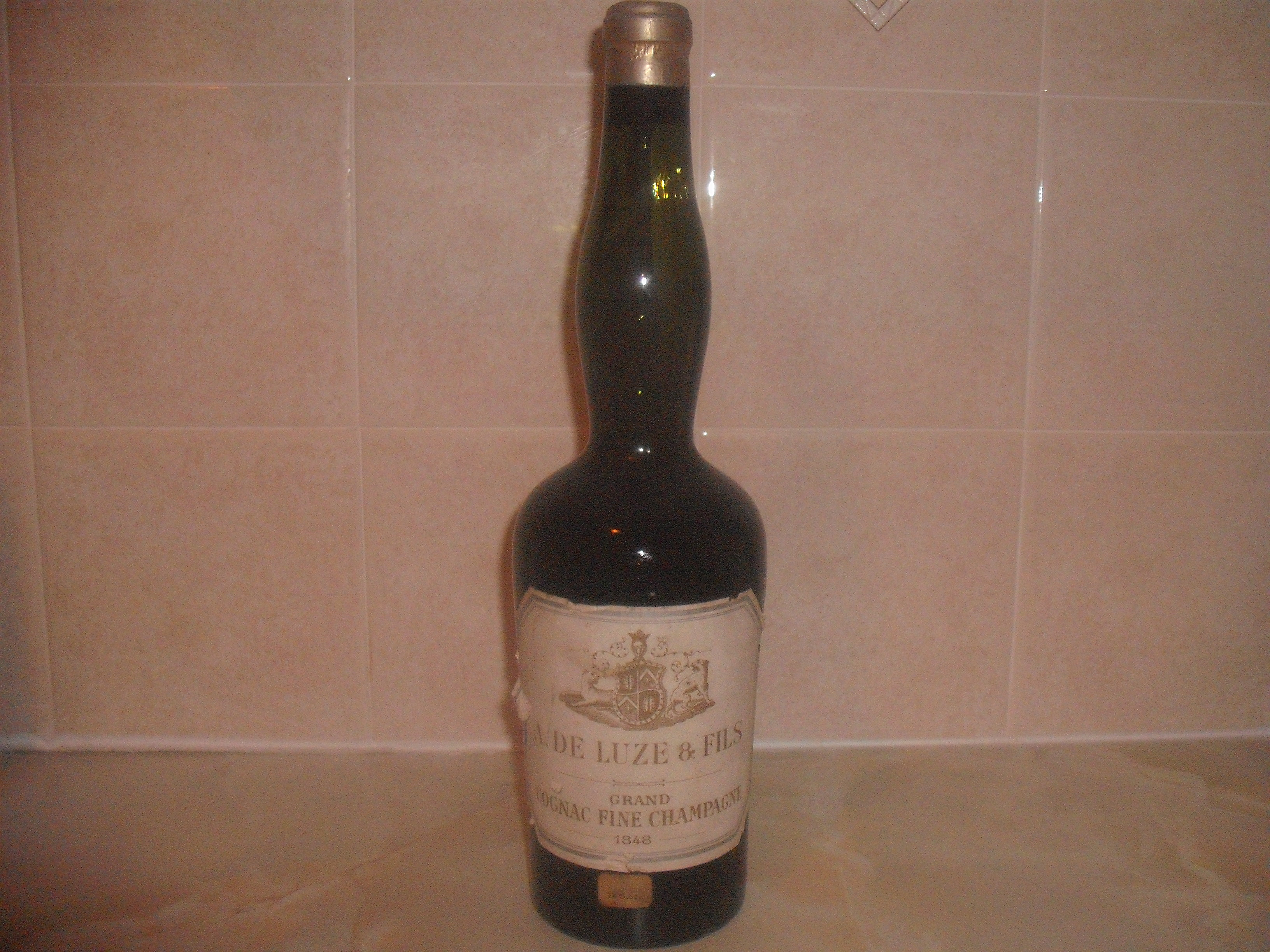 A De Luze Old bottle