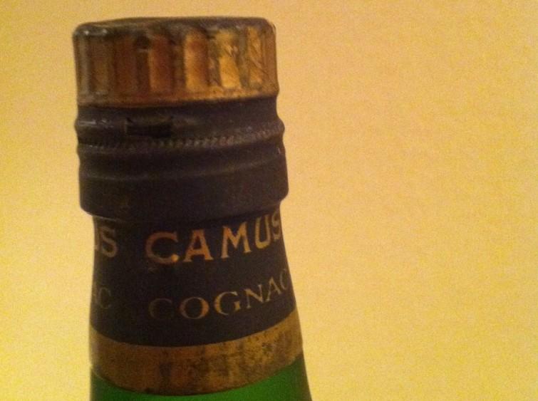 Cork of Camus Flask bottle