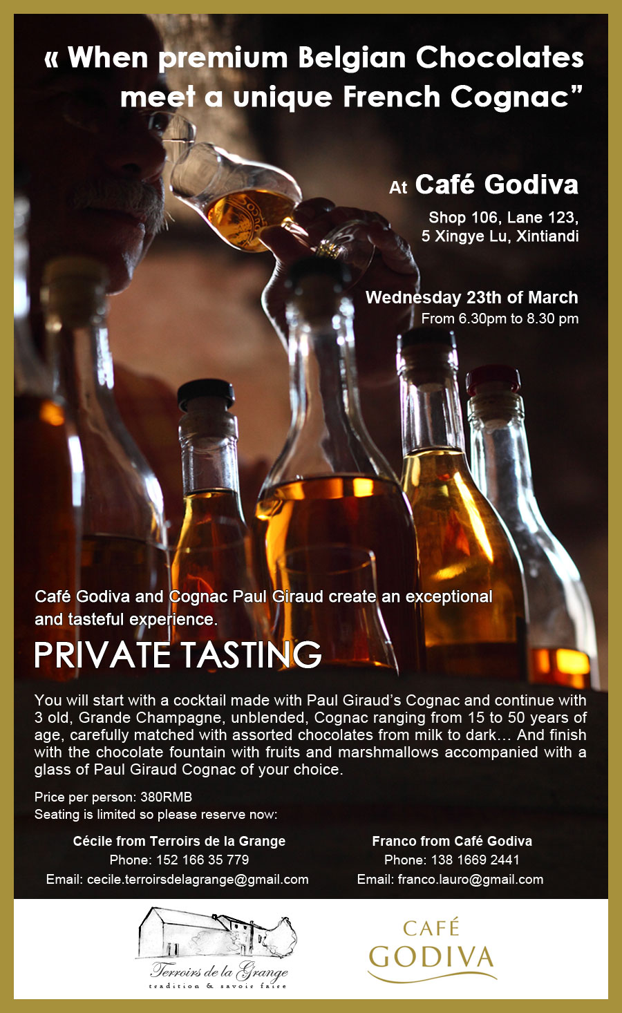 Private Tasting with Cognac and Chocolate