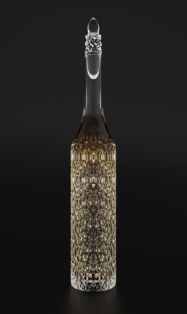 Gothic Architecture meets Cognac Bottle: The Cathedral Decanter