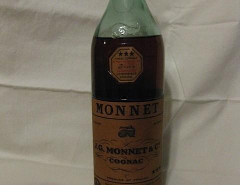 JG Monnet et Cie Cognac Three Stars