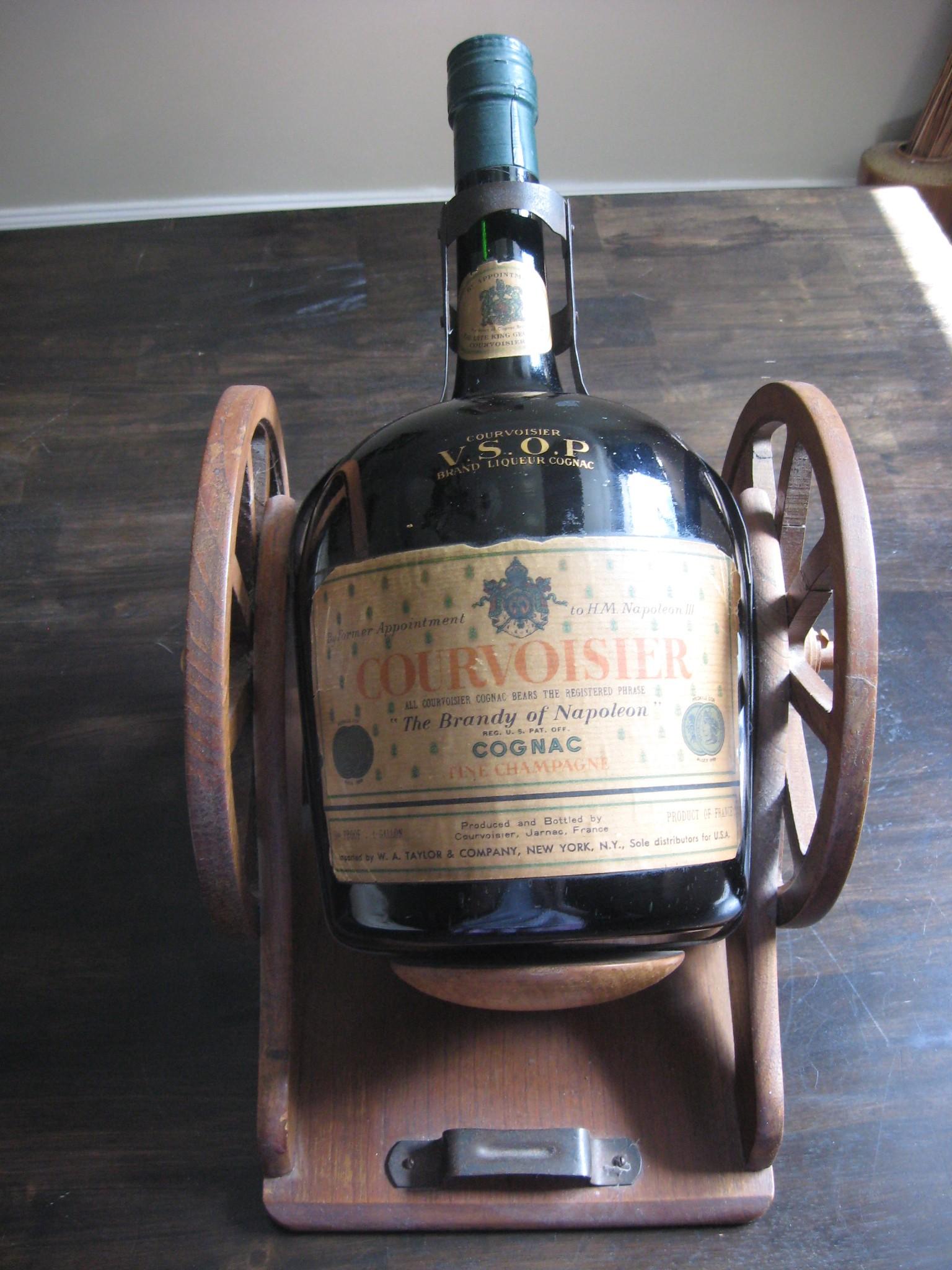 Courvoisier Cannon VSOP