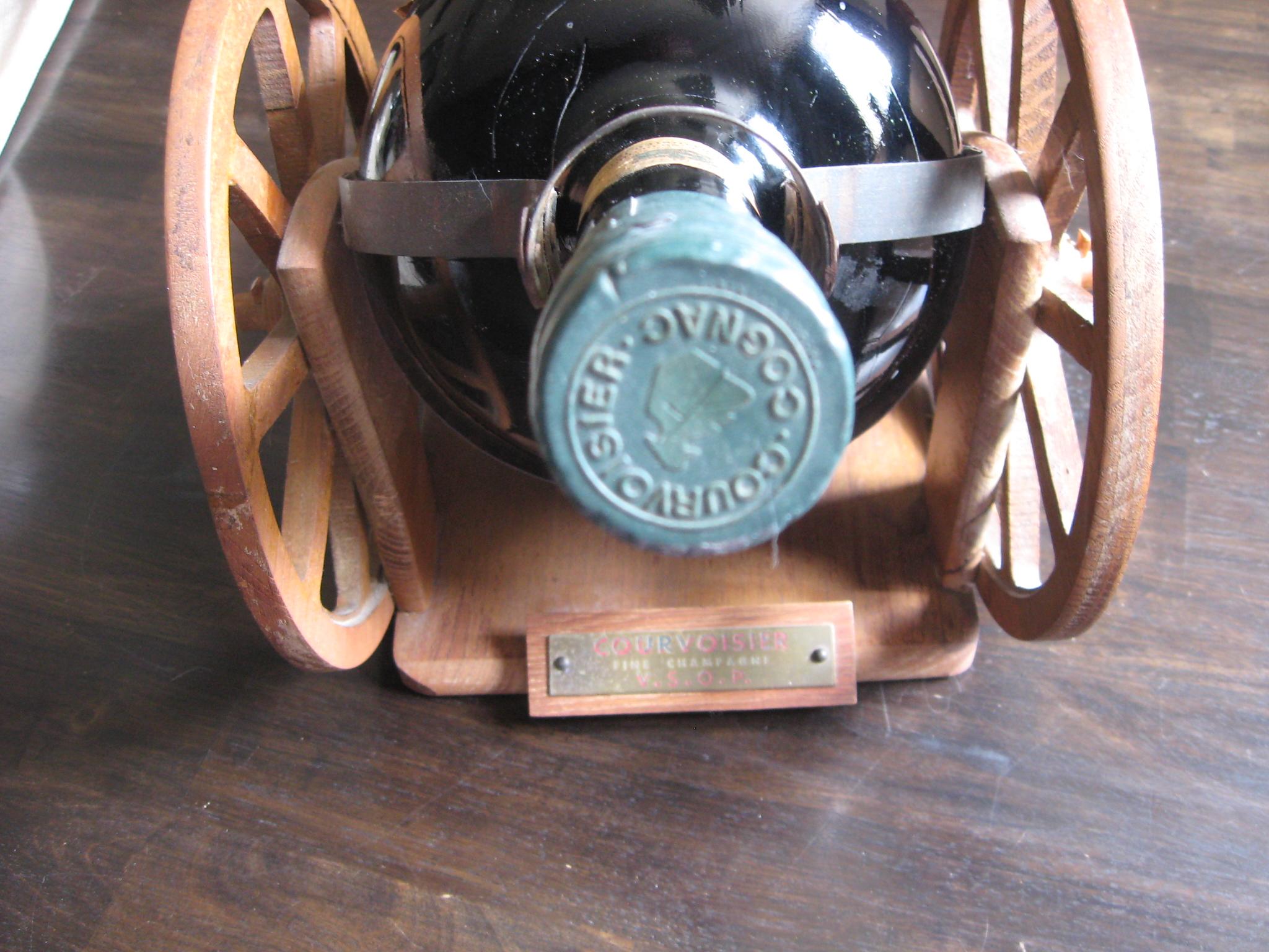 Bam! Courvoisier VSOP Gallon Gun-Carriage