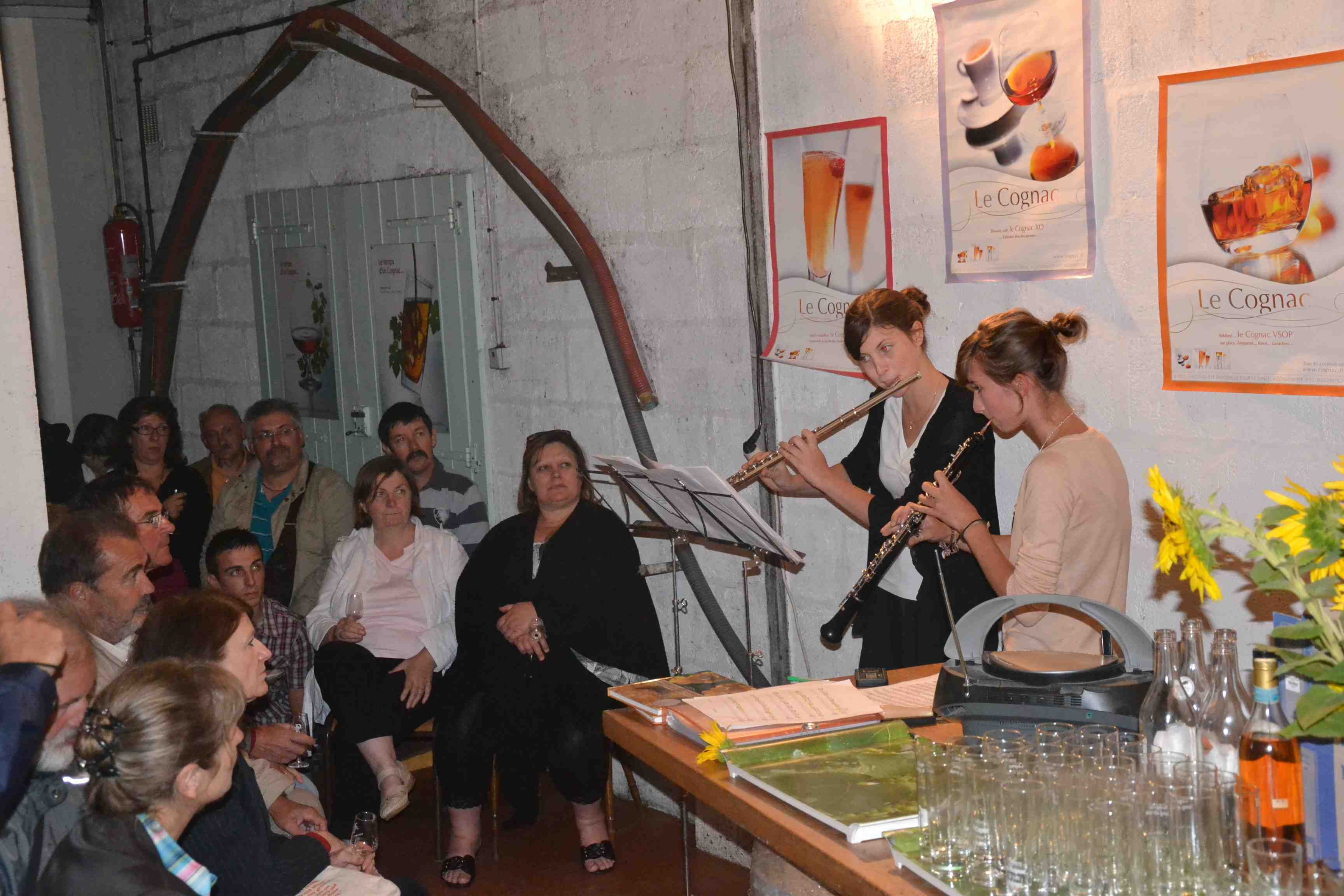 Cellar Event at Cognac Birius
