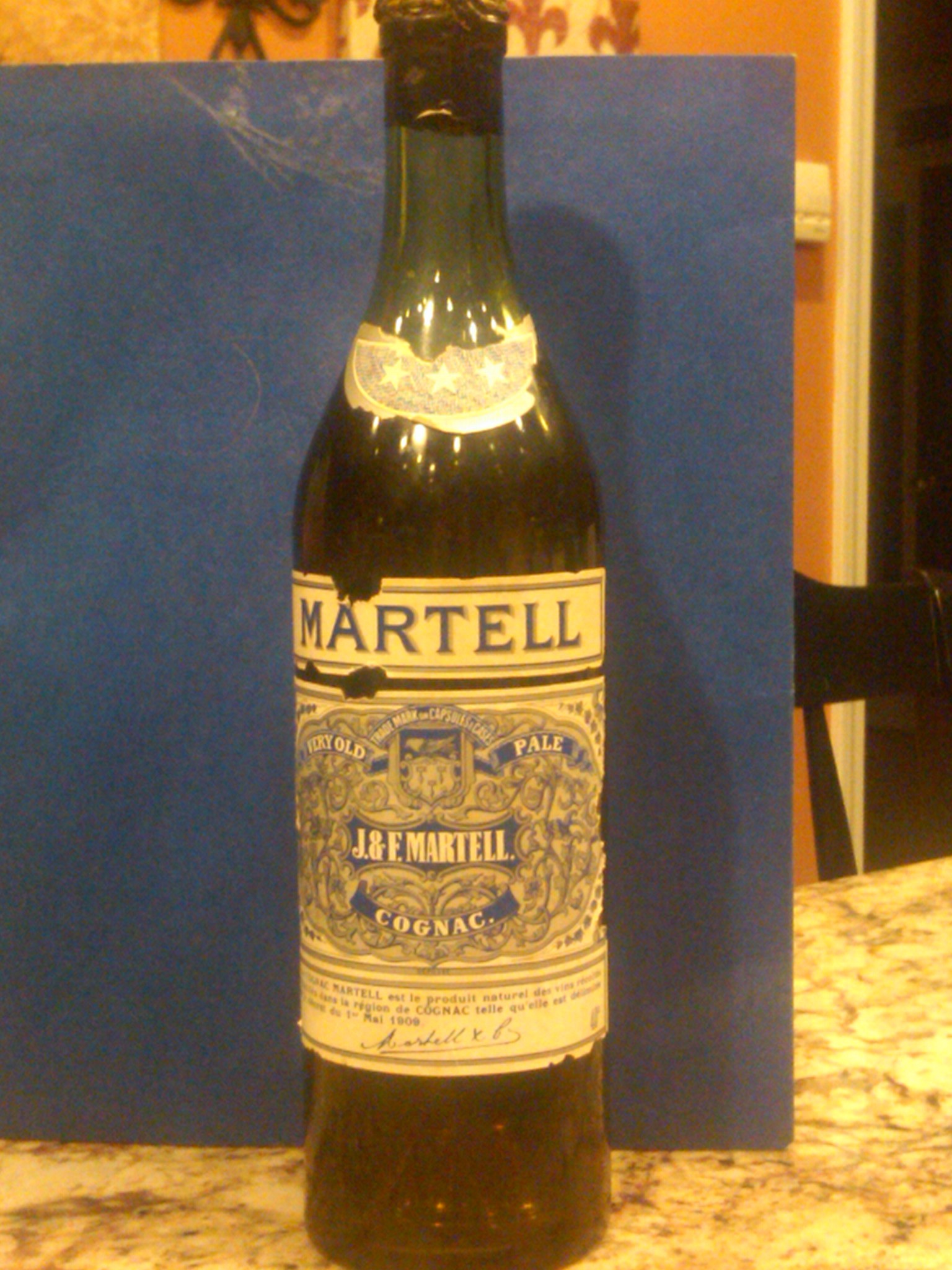 JF Martell Very Old Pale