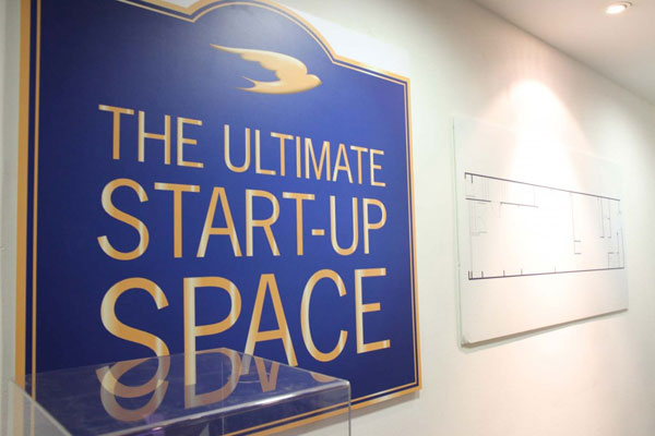 Martell's Ultimate Start-Up Space in Singapore