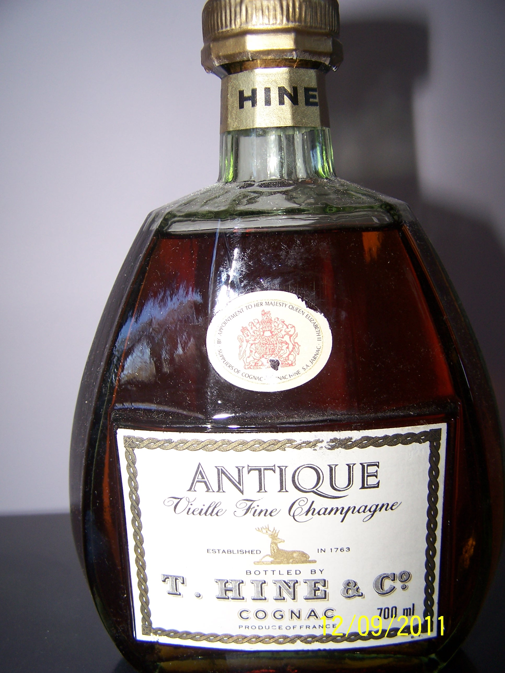 Hine Antique Vieille Fine Champagne: For Sale but what's the Value?