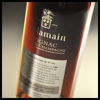 Delamain Cognac Grande Champagne 1966 45 years