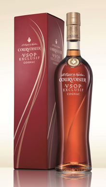 New Courvoisier Exclusif Packaging