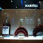 Martell Bottles