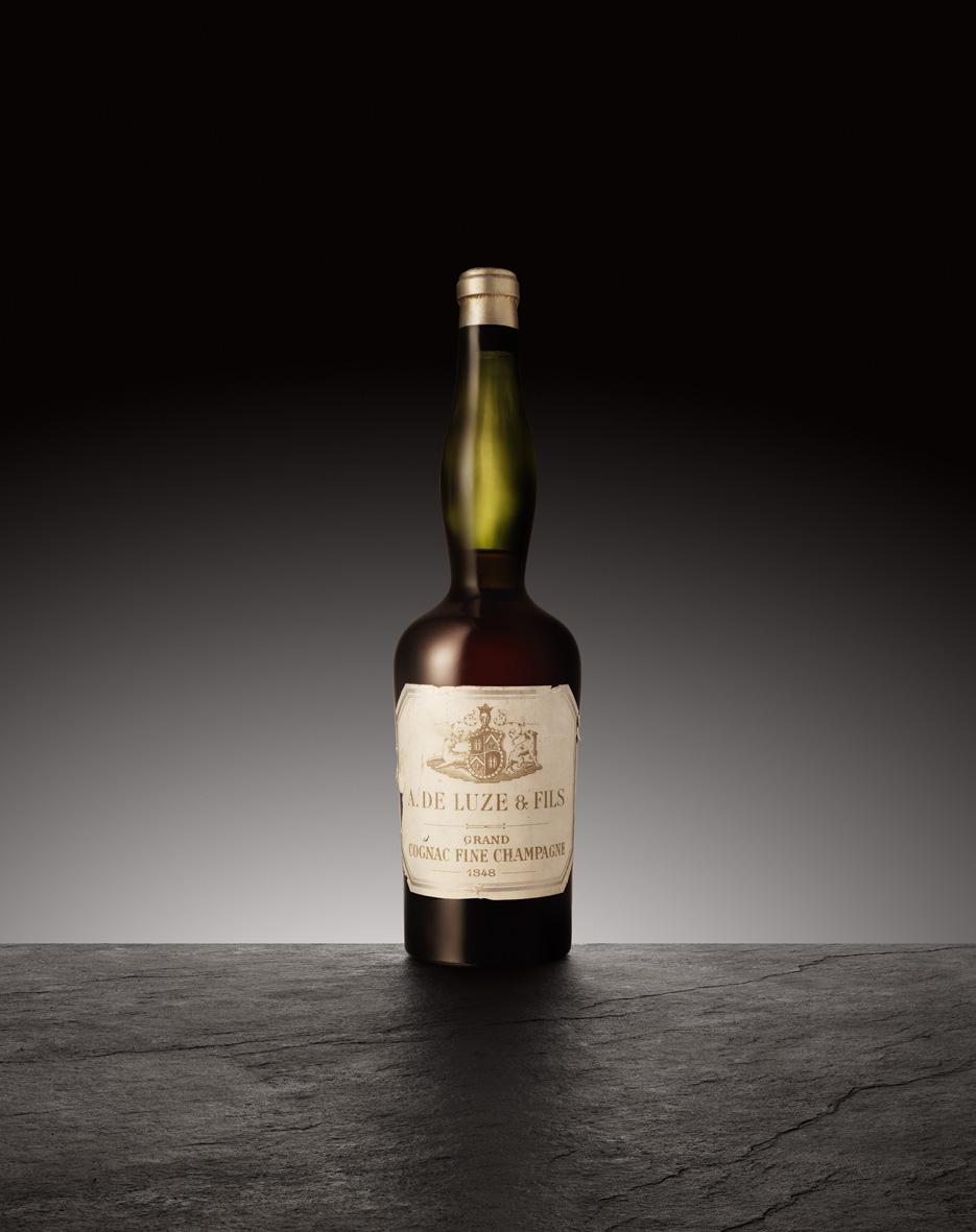 Old DE LUZE bottle
