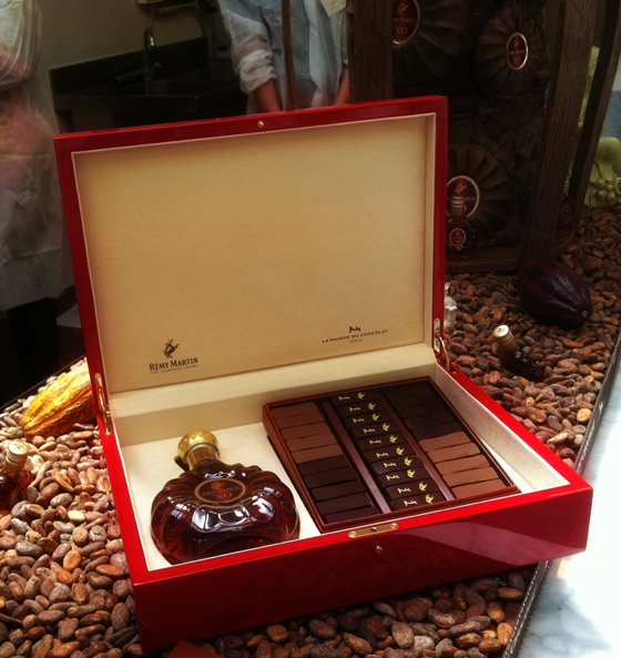 Remy Martin XO and La Maison de Chocolat