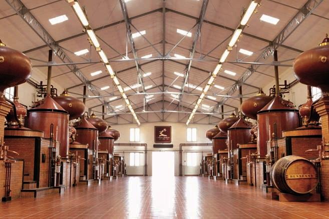 Hennessy Distillery (Credit: Antoine Bagot)