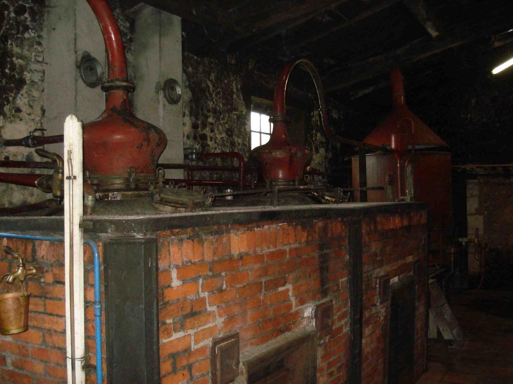 Distilling Cognac
