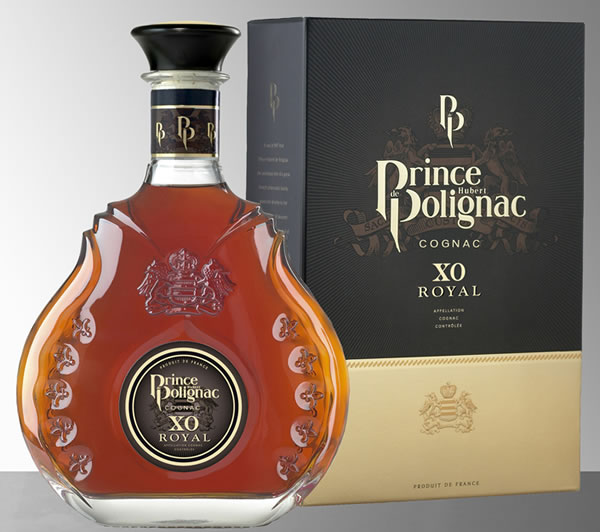 It's a Prince Hubert de Polignac XO Royal Cognac Makeover