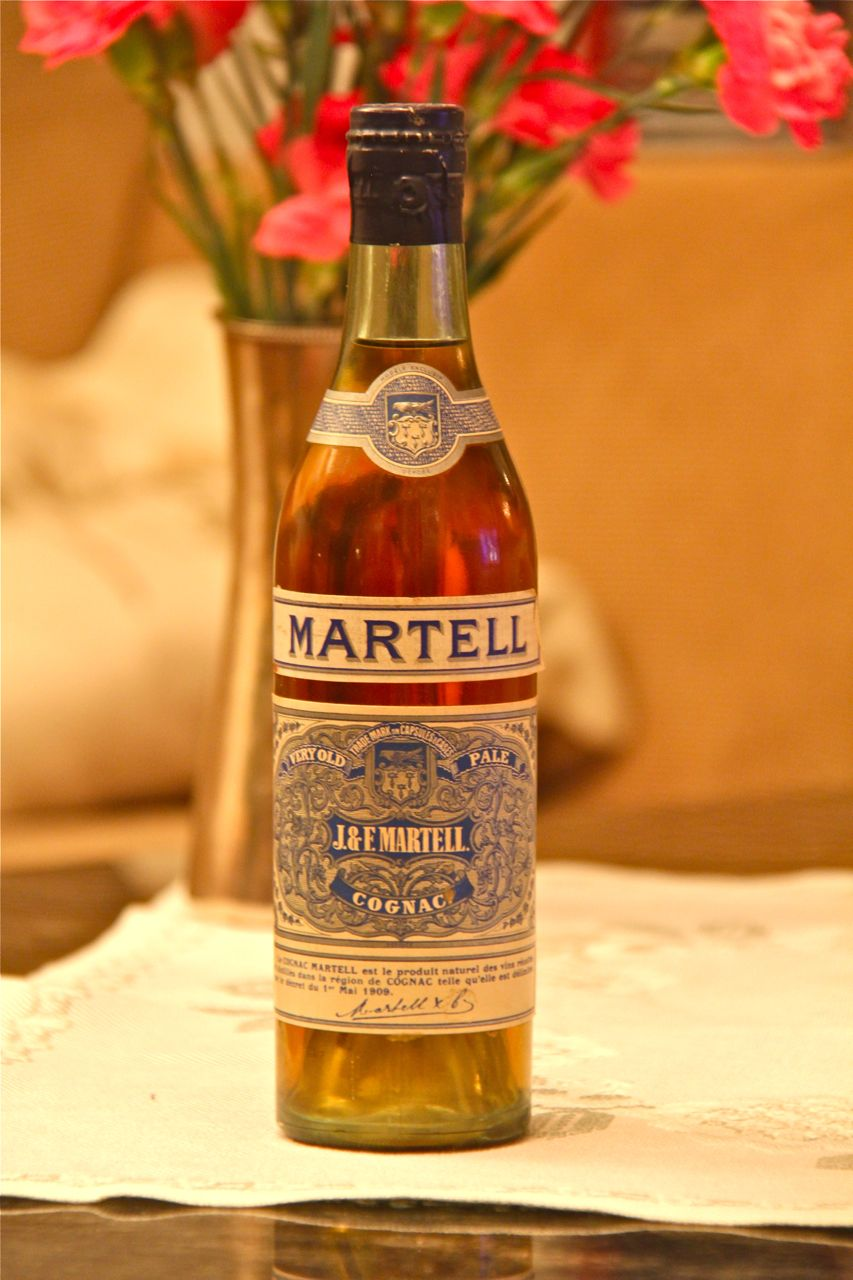 VOP in Stockholm: J&F Martell Very Old Pale Cognac
