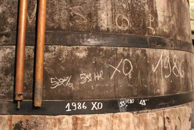 Old XO Barrel 1986