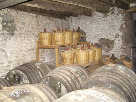 Chateau de Montifaud cellar