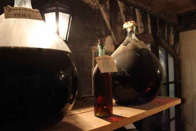 Vintage Cognacs at Bache