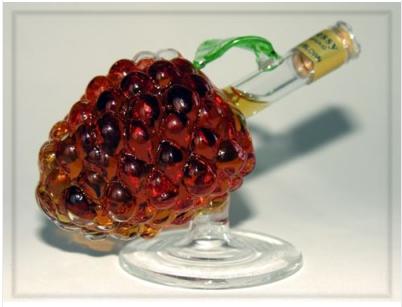 Grapes bottle