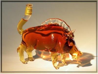 The 'wild boare' bottle